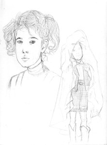 5. boceto e. t. niña